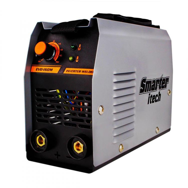 Inversora De Solda Smarter Itech EVO-160M 140A Bivolt Cinza