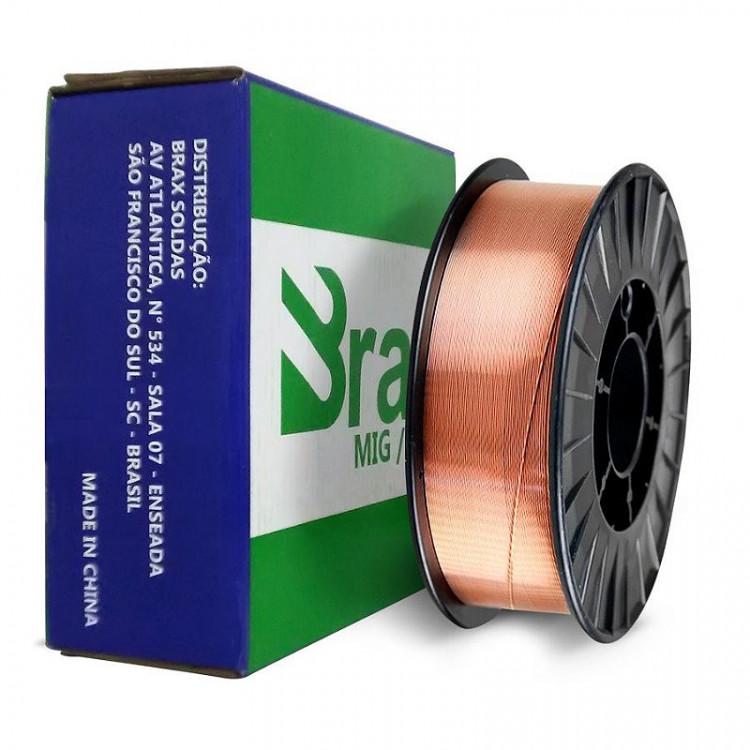 ARAME DE SOLDA MIG ER70S-6 (1,2mm) 15 KG