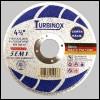DISCO DE CORTE TURBINOX – AÇO/INOX/ALUMINIO/PVC 114,3×1,0×22,2