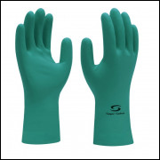 LUVA LATEX NITRILICO TAM. 7 (P) SUPER SAFETY