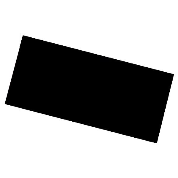 LENTE RETANGULAR ESCURA TONALIDADE 10 105 X 50 X 3 mm