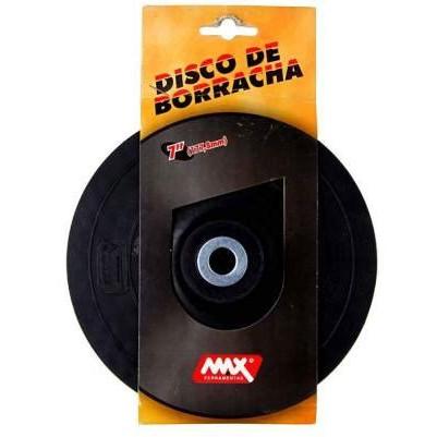 DISCO DE BORRACHA PARA LIXADEIRA MAX 7-