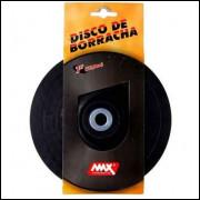 DISCO DE BORRACHA PARA LIXADEIRA MAX 4.12/-